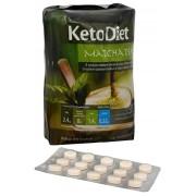 KetoDiet Proteinový nápoj Matcha tea 7 x 29 g + Čokoláda 15 tbl.
