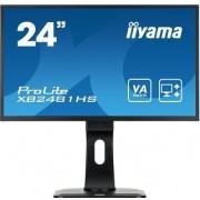 """IIYAMA ProLite XB2481HS-B1 - LED-monitor - 24"""" (23.6"""" zichtbaar) - 1920 x 1080 Full HD (1080p) @ 60 Hz - VA - 250 cd/m² - 3000:1"""