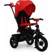 Tricicleta Copii Moni Jockey Rosu