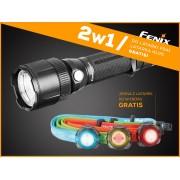 Latarka Fenix FD41 Focus zoom 900lm + czołówka HL05