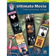 Alfred Music Ultimate Movie - Tenor-Sax Instrumental Solos, Book/CD