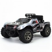 1:18 2.4GHz Wireless Remote Control Desert Truck 18km/H Drift RC Off-Road Car Desert Truck RTR Toy Gift Up to Speed gifts for bo