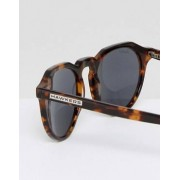 Hawkers Sunglasses Hawkers Warwick Polarised Round Sunglasses In Tort - Brown