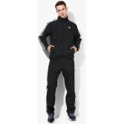 Adidas Essentials Black Tracksuit