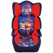 Paw Patrol Bilbarnstol 2+3 blå och röd AUTO268002