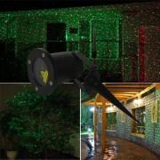 Laser Gradina tip Star Shower cu Senzor, Rosu Verde Telecomanda, Timer