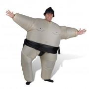 vidaXL Nafukovací kostým zápasník sumo