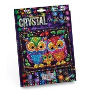 Набор креативного творчества Crystal Mosaic Совы CRM-01-07