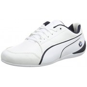 Puma Unisex Bmw Ms Drift Cat 7 Puma White-Team Blue-Puma White Sneakers - 8 UK/India (42 EU)(30598602)