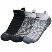 Kit 3 Meias Nike Cano Baixo Dri-fit Cushion