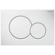 Clapeta actionare rezervor incastrat Dual-Flush,Geberit Sigma 01, alb alpin -115.770.11.5