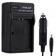 PULUZ 2-in-1 Digitale Camera batterij autolader voor Sony NP-BN1 batterij