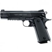 Colt M45 CQBP Black 4,5mm - stålrundkulor