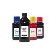 Kit 4 Tintas Aton Para Hp 950 951 Preta 500 ml Coloridas 100 ml