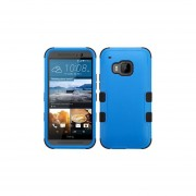 Funda Protector Triple Layer HTC One M9 Azul / Negro