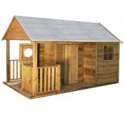 Dětský zahradní domek LUKÁŠ s terasou