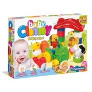 Baby Clemmy - Ferma vesela, 9 cuburi
