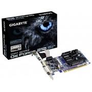 Gigabyte Grafikkort Gigabyte Nvidia GeForce 210 1 GB DDR3 PCIe x16 HDMI, DVI, VGA