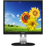 "Monitor IPS LED Philips 19"" 19P4QYEB/00, DVI-D, DisplayPort 1.2, 5ms GTG, Boxe (Negru)"