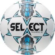 Select Voetbal Numero 10 Wit/Blauw