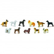 Rase caini - Safari Toob - Set 11 figurine