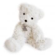 Histoire D'ours Urso de peluche, Pompom, 40 cmBranco- TAMANHO ÚNICO