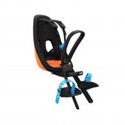 Scaun pentru copii, cu montare pe bicicleta in fata - Thule Yepp Nexxt Mini Vibrant Orange