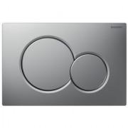 Clapeta actionare Dual-Flush,Geberit Sigma 01,pentru rezervor incastrat,crom mat -115.770.46.5