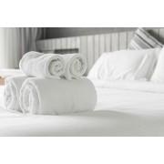 Бяла хавлиена кърпа за баня 70/140 - тип Хотел