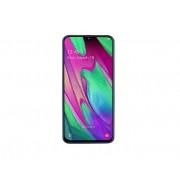 """Smartphone, Samsung GALAXY A40, DualSIM, 5.9"""", Arm Quad (1.8G), 4GB RAM, 64GB Storage, Android, White (SM-A405FZWDBGL)"""