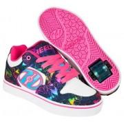 Heelys Chaussures à Roulettes Heelys Motion Plus Denim/Rainbow (Denim/Rainbow)
