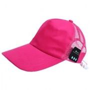 Rooq Wireless Bluetooth Baseball Pink Cap Sport Hat Wearable Smart Devices