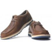 Clarks Mumford Key Corporate Casuals For Men(Beige, Blue, Brown)