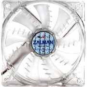 Ventilator Zalman, 80mm, Shark Fin, Blue LED