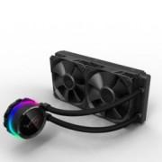 Водно охлаждане ROG RYUO 240 Aura Sync OLED, съвместимост с LGA 2011/2011-3/2066/1366/1152/1156/1155/1150/1151, AMD AM4/TR4