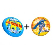 Combo of Batman Inflatable Ball 9 inch & A Flying Disc
