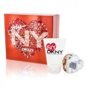 My NY The Heart Of The City Coffret: Eau De Parfum Spray 50ml/1.7oz + Body Lotion 100ml/3.4oz 2pcs My NY The Heart Of The City Комплект: Парфțм Спрей 50мл + Лосион за Тяло 100мл