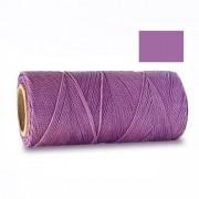 Macrame Koord - LILA / PURPLE - Waxed Polyester Cord - Klos 914 cm - 1mm dik