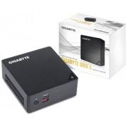 Настолен мини компютър Gigabyte Brix BKi7HA, Intel® Core™i3-7100U, 4GB DDR4, 240GB SSD, USB Type-C, WF+BT, черен GA-PC-BKi3HA-7100-S2