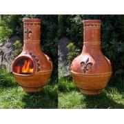 1a Direktimport Original Mexico Terrassenofen Aztekenofen El Dorado