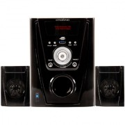 KRISONS (POLO) 2.1 MULTIMEDIA SPEAKER FOR HOME/ THEATRE With Bluethooth USE 2.1 Home Cinema