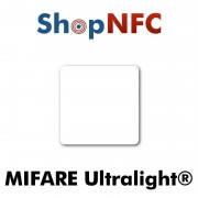 Etiqueta NFC NXP MIFARE Ultralight® 35x35mm adhesiva