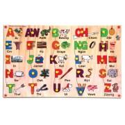 Skillofun Wooden Mizo Capital Alphabet Picture Tray
