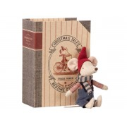 Maileg Christmas mouse in book - big brother - taille : 17 cm