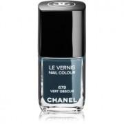 Chanel Le Vernis esmalte de uñas tono 679 Vert Obscur 13 ml