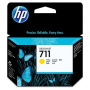 HP 711 Yellow Ink Cartridge, 29-ml (CZ132A)