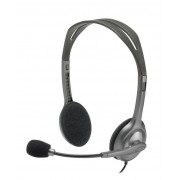 Logitech Stereo H111 - Auscultadores - no ouvido - com cabo