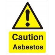 Unbranded Warning Sign Asbestos Plastic 40 x 30 cm