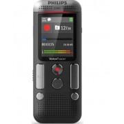 Reportofon digital PHILIPS DVT2510, 8GB, USB, LCD color, activare vocala (Negru)