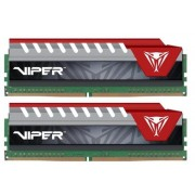 Memorie Patriot Viper Elite Red, DDR4, 2x4GB, 2400MHz